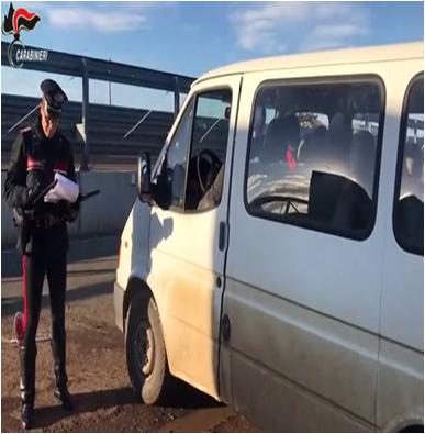 Carabinieri controllo lavoro