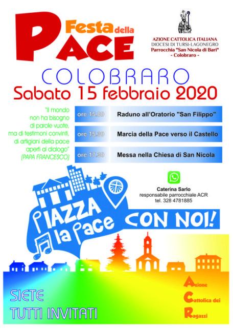 Festa della Pace ACR 2020