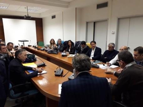4.3.2020_Arpab, Rosa, Fanelli e Busciolano incontrano i sindacati_1