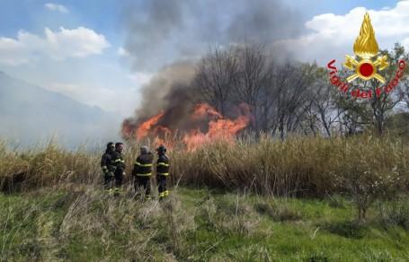 incendio montalbano