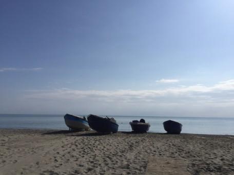 barche spiaggia