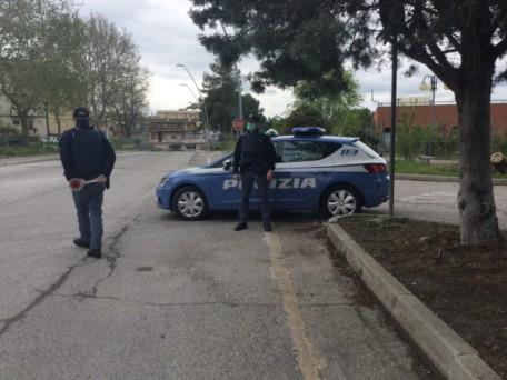 controlli su strada polizia