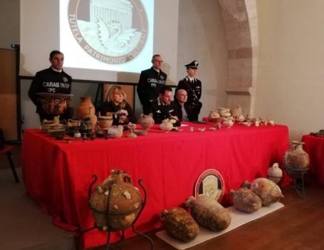 carabinieri reperti