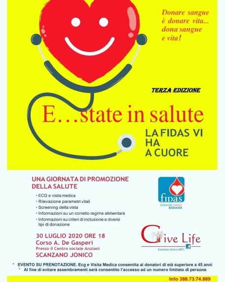 Give life Scanzano