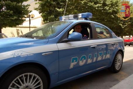Volante in via Tasso polizia