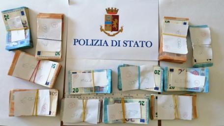 denaro sequestrato