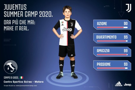 juventus summer camp 2020