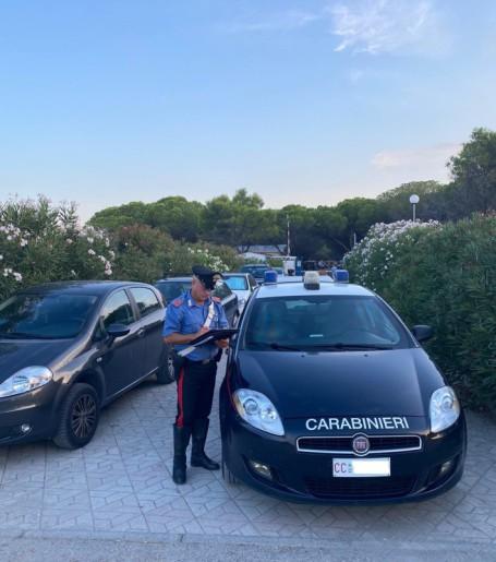carabinieri controlli spiaggia