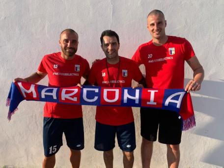 Giancarlo Carioscia con Mario Cirigliano e Giuseppe Marino