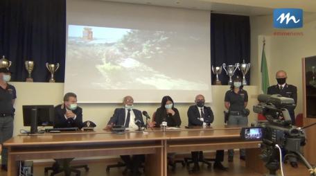 conferenza stampa polizia