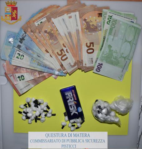 droga e soldi sequestrati