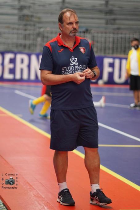 Mathias Lamers tecnico Bernalda Futsal