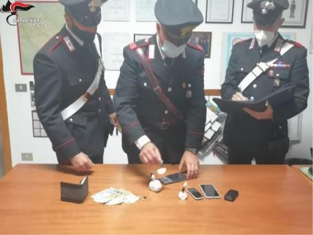 carabinieri bernalda droga