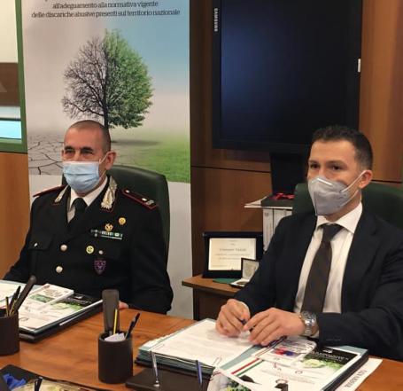 foto firma protocollo fra Commissario straordinario Bonifica Discariche ...