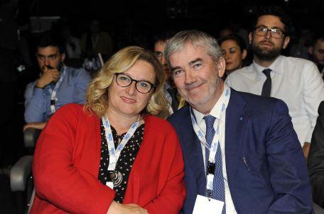 rosa gentile con il neo presidente Marco Granelli