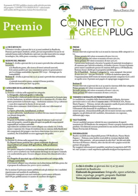 Progetto Connect to green